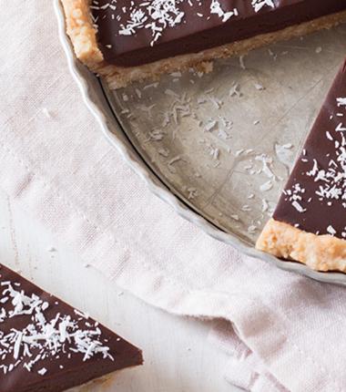 Tarte chocolat et coco Bonne Maman